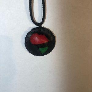 African medallion. RBG